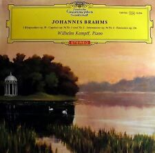 Brahms: 2 Rhapsodien [RED STEREO - LAGE TULIPS] : Wilhelm Kempff