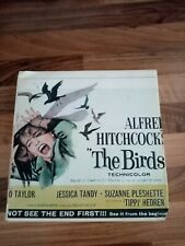 cinema home movie super 8. the birds colour sound good picture and sound