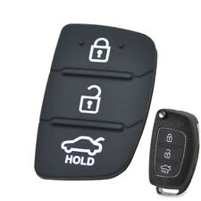 Replacement Rubber Pad Remote Key Shell For Hyundai Creta I20 I40 Tucson Elantra