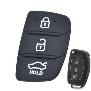 Rubber Flip Hyundai Elantra Key Shell Remote For Hyundai Creta I20 I40 Tucson