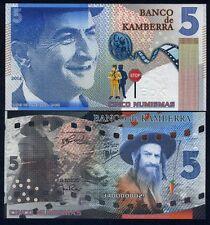 Kamberra, 5 Numisms, 2020, UNC Redesigned Louis de Funes Centennial