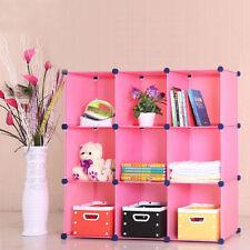 Bibliothèques, étagères et rangements rose en plastique pour la maison