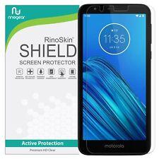 For Motorola Moto E6 Screen Protector RinoGear Case Friendly Accessories