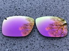 ETCHED POLARIZED ROSE PINK MIRRORED REPLACEMENT OAKLEY HOLBROOK LENSES