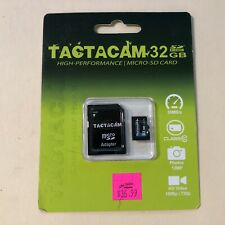 Genuine Tactacam 32GB Class 10 High, Performance Micro SD Card with Adapter