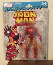 Marvel Legends Vintage Series Iron Man Retro Figure New