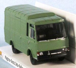 BREKINA Magirus-Deutz 90 D 6 Zeta (Green) 1/87 HO Scale Plastic Model NEW, RARE!