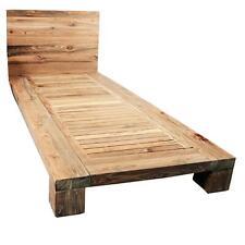 DIVERO Holzbett Einzelbett Doppelbett Futonbett Bett-Gestell Lattenrost Kopfteil