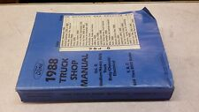 1988 Truck Shop Manual Vol D Medium/Heavy Duty Truck Body/ Chassis/ Electrical