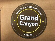 "AMERICA'S NATIONAL PARK GRAND CANYON ARIZONA  3 1/4"" CIRCLE STICKER"