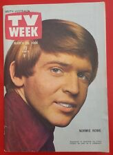 ♫ NORMIE ROWE 1966 cover Bob Dylan article Australian TV Week - complete  ♫