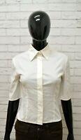 Camicia PATRIZIA PEPE Donna Taglia 42 Maglia Blusa Shirt Woman Regular Bianco