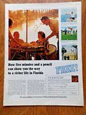 1966 General Development Corporation Ad Port Charlotte Port St Lucie Florida