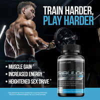Tribuloid Testosterone Booster Male Performance Tribulus 1000mg MAX Energy Pills