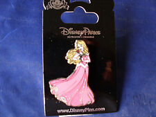 Disney* AURORA - SPARKLE GOWN & ROSE * Sleeping Beauty * New on Card Trading Pin