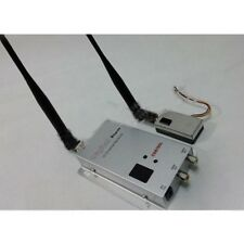 1.2G 1W 1000mw Audio Video Camera Image Monitoring Transmitter Receiver Set FPV