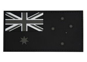 PVC Australian Flag Patch - Subdued Finish - New