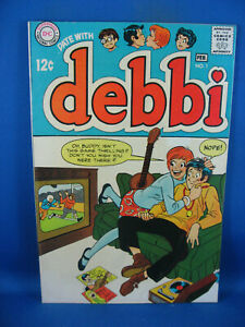 A DATE WITH DEBBI 1 F+  FIRST ISSUE 1969