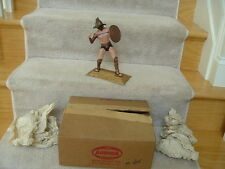 1958 Aurora Model Kit Gladiator Sword Store Display M-405 with Ad Box Nice!