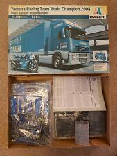 ITALERI 1/24 VOLVO FH12 YAMAHA RACING TEAM TRUCK AND TRAILER