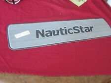 Nautic Star Storm Grey/Black non skid pad P# O-NSB -14905