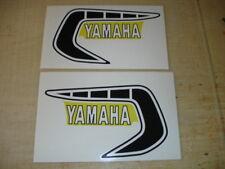 1981 Yamaha YZ125 Gas Tank Decal Set. AHRMA