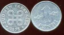 FINLANDE   1 penni 1976