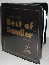 Best of Sandler Presidents Club Training 16 CD + 16 CD MP3 Smartphone UploadDisc