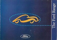 Ford 1994 UK Market Brochure Fiesta Escort Mondeo Probe Granada RS Maverick