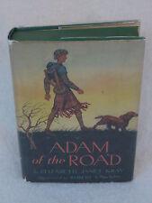 Elizabeth Janet Gray ADAM OF THE ROAD 1942 1stEd HC/DJ Illust'd by ROBERT LAWSON