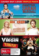 Forgetting Sarah Marshall/40 Yr Old Virgin/ Knocked Up Blu Ray
