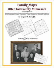 Family Maps Otter Tail County Minnesota Genealogy Plat