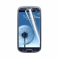 10x New Quality Clear Screen Protector Guards For Samsung Galaxy S3 I9300 I9305