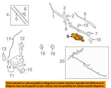 HYUNDAI OEM 09-10 Elantra-Windshield Wiper Motor 981102H001