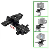 4 Way Macro Shot Focusing Focus Rail Metal Slider for Nikon Peantax Camera J&C