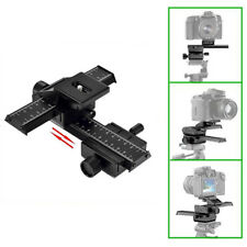 4 Way Macro Shot Focusing Focus Rail Metal Slider for Nikon Peantax DSLRC3G