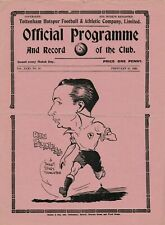 More details for rare pre-ww2 war football programme tottenham hotspur v blackburn rovers 1938-39
