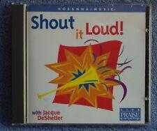Hosanna JACQUE DESHELTER Shout It Loud! 1998 CD Worship OOP