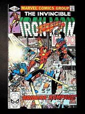 IRON MAN 145 (Marvel 4/81 9.0 non-CGC) NR! JIM RHODES! SHIELD! BETHANY CABE!!