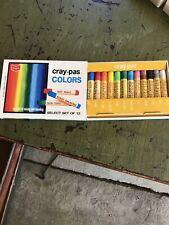 Cray-Pas Colors Spectrum Set Of 12- Vintage Sakura ~Made In Japan~ lot of 5
