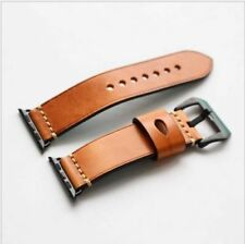 Genuine Leather Watch Band Wrist Strap For Apple Watch iWatch Series 1 2 38/42mm