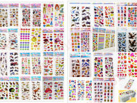 Puffy Scrapbooking Kids Party Favors Crafts Stickers-Teacher Reward PVC stickers