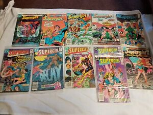SUPERGIRL DC Comics Books 11 Mixed LOT RARE Superman Comic Series Run