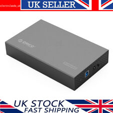Orico aluminio 3.5 Pulgadas USB 3.0 disco duro SATA HDD/SSD gabinete/Caddy Case-GY