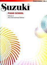 Suzuki Piano School Volume 1 Book Only *NEW* International Edition Tuition