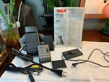 Rca Camcorder Cc190 Accessories Lot Manual+Remote+Battery Charger=No Camcorder