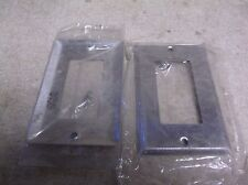 Mulberry Metal Wall Plates, Set of 2 M#2/141 M#5/212 97401-S1/01 Set of 2