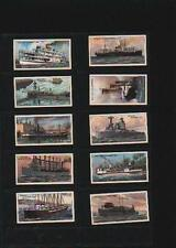 cigarette cards strange craft ships 1931 full set