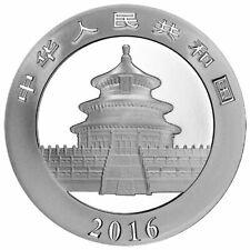 1 onza de plata - Panda China - 10 Yuanes - 2016