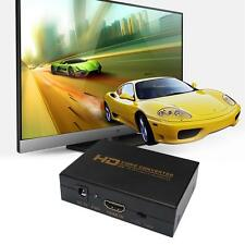 HDMI to DVI Audio Converter Adapter Box For PS3 DVD XBOX360 CRT LED Display  BA